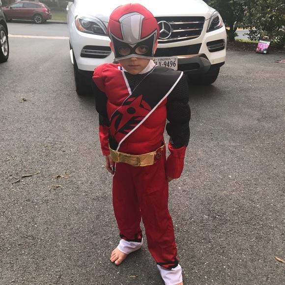 Power Rangers Ninja Steel Red Ranger